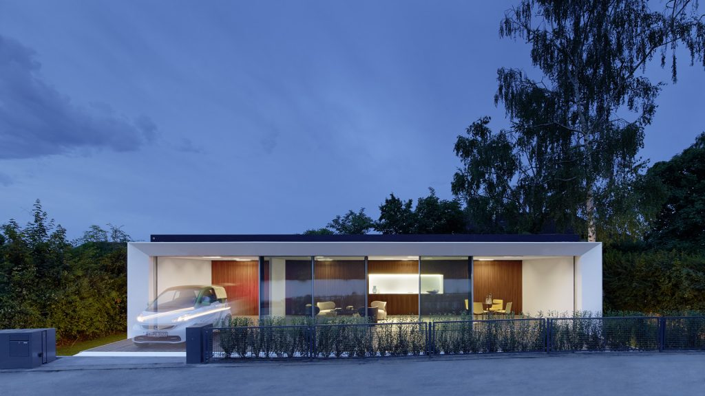 Textilfassade Aktivhaus Stuttgart B10